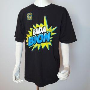 WWE Enzo Big Cass Black T-Shirt Bada Boom Size L